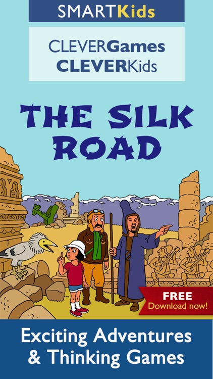 Smart Kids : The Silk Road - Intelligent thinking activities to improve brain skills for your family and school