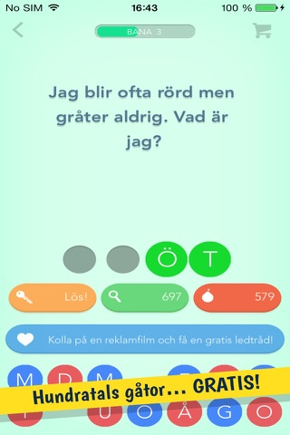 Riddles – The Fun Free Word Game with Hundreds of Riddles screenshot 2
