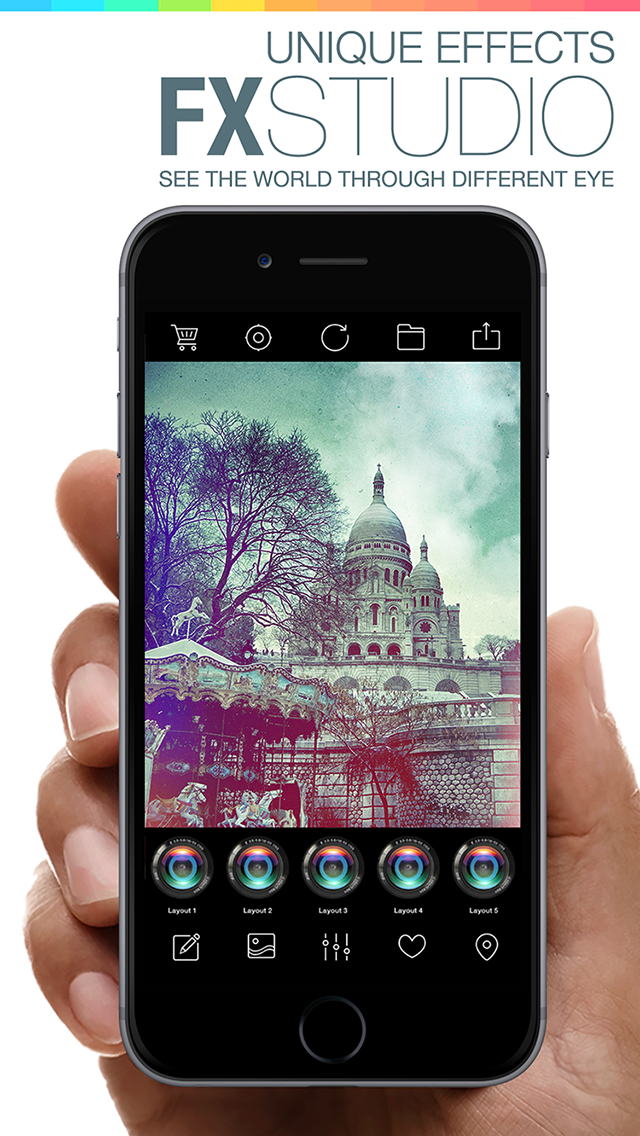 FX Studio 8 Plus - Photo Editor and Camera Filters Effects for iPhone & iPad screenshot two