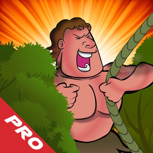 Jungle Man Swing PRO : Rope And Fly Adventure