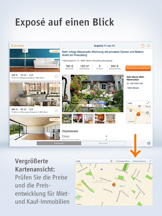 Immobilien Scout24 for iPad screenshot-3