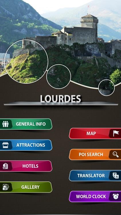Lourdes Offline Travel Guide