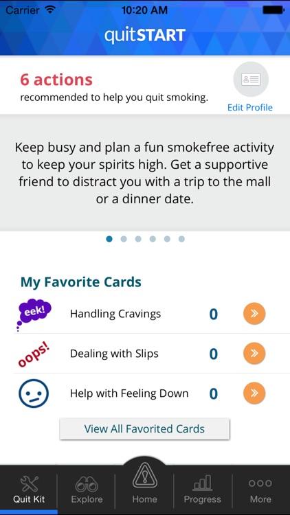 quitSTART - Quit Smoking