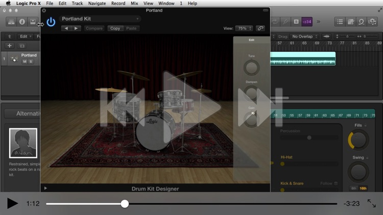 Xtreme Drums & Beats Course For Logic Pro X screenshot-1