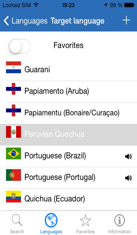 Speak the languages of the American Continent - english, french, spanish, portuguese, quechua, papiamento, guarani, creole, aymara, etc screenshot-0
