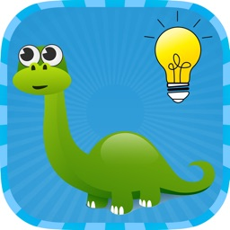 Dinosaur Memory Match - Remember Animal Pairs Game for Kids & Kindergarten