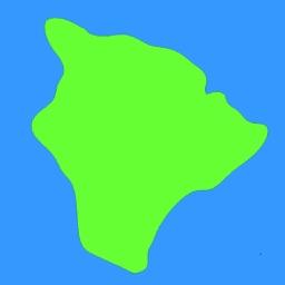 PATH Big Island of Hawaii Hiking and Biking Map