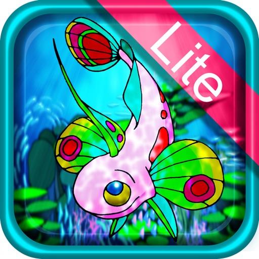美しい熱帯魚ぬりえLite