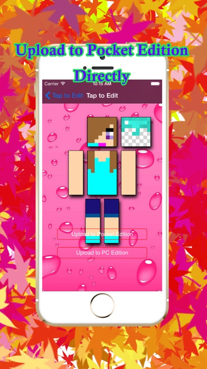 Cool Girl Skins for PE of Minecraft screenshot-4