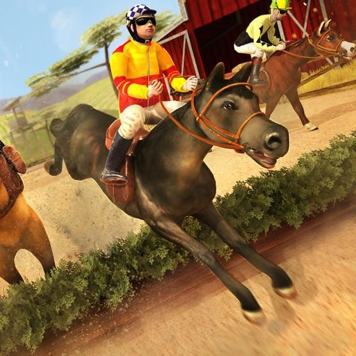лошадь симулятор | Бесплатно игры гонки лошади (животное бегун 3д)
