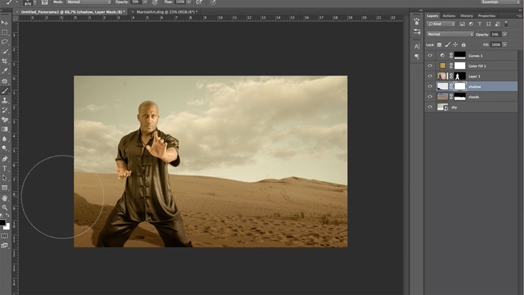 Learn How to Retouch Special Effects in Photoshop CC Edition screenshot-1