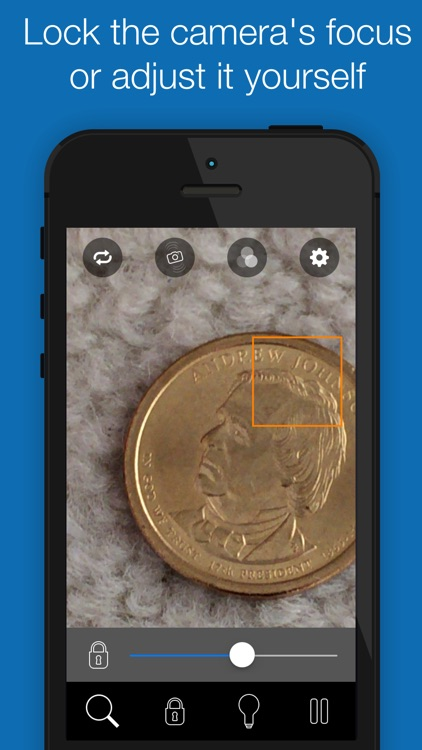BigMagnify Free - Zooming Magnifier and Mirror with Flashlight