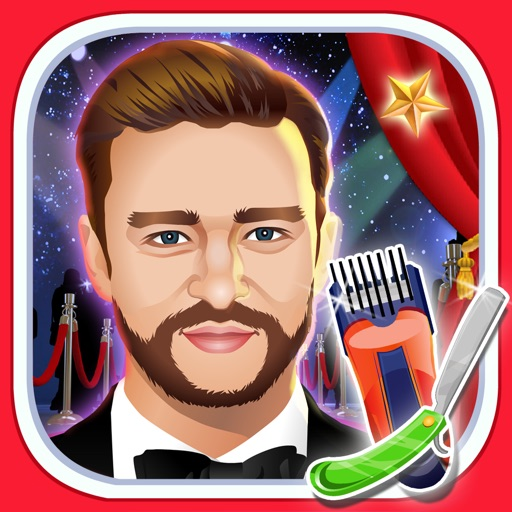 Celebrity Shave Beard Makeover Salon & Spa - hair doctor girls games for kids iOS App