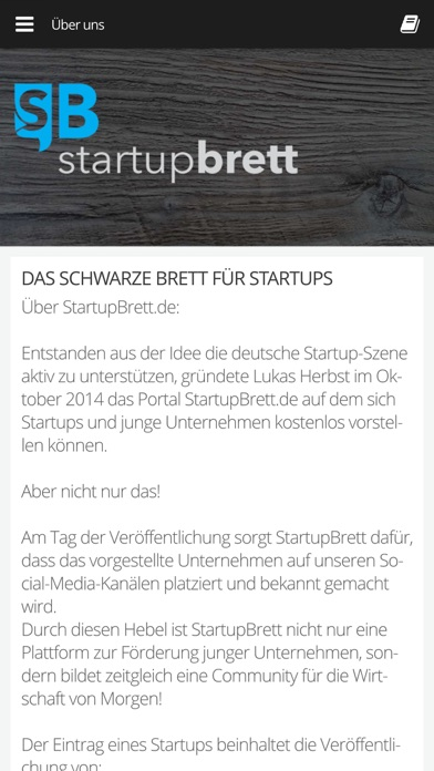 StartupBrettScreenshot von 3