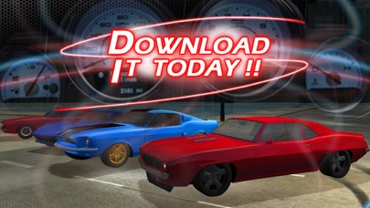 3d Muscle Car V8 Parking Classic Car City Racing Free Game App