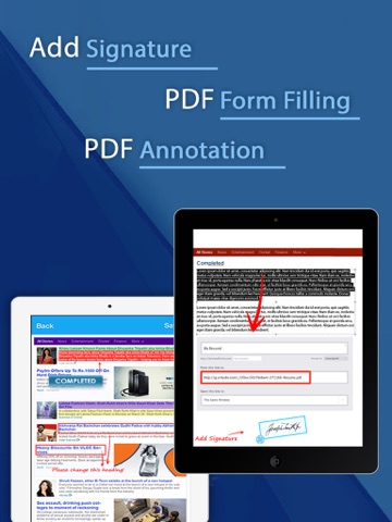 Screenshot of PDF Converter and Printer Pro : PDF Scanner , scan document, receipt,pdf annotation