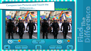 Find The Hidden Differences : Guess Hidden Difference : Kids Fun Hidden Object Puzzle Game : Spot Objects Family Puzzle screenshot three