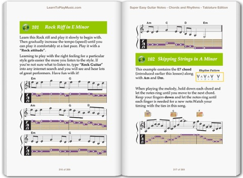 Super Easy Guitar Lessons Notes Chords Rhythms With Tab By