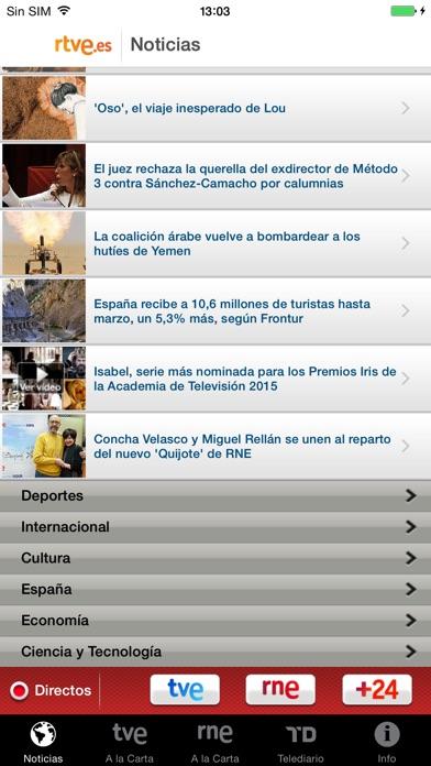 download RTVE.es | Móvil apps 1