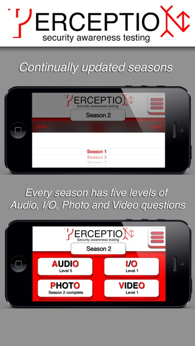 ERCEPTIO - Cross train your brain! Test your perception and security observation skills with real video and audio clips from everyday life. screenshot four