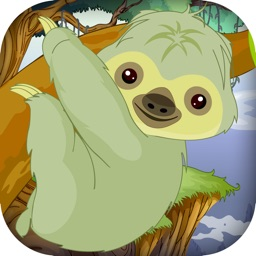 Baby Sloth Tree Climber - Jungle Survival Run (Free)