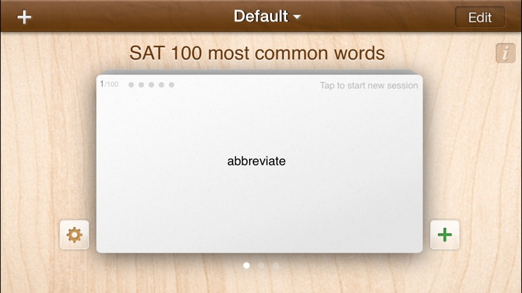 A+ FlashCards Pro screenshot-1
