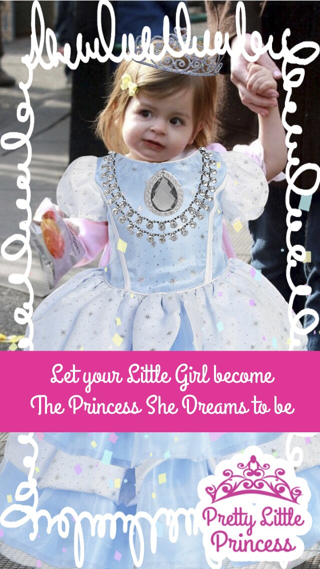 Little Princess Dress Up Party Photo Booth