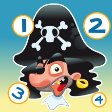 Activities of Pirate Counting Game for Children to Learn to Count