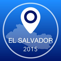 El Salvador Offline Map + City Guide Navigator, Attractions and Transports