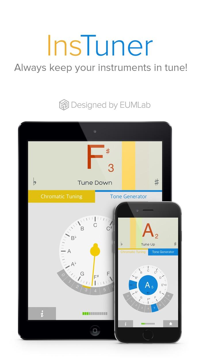 insTuner Free - Chromatic Tuner Screenshot