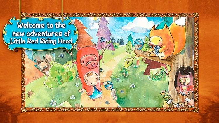 Little Red Riding Hood and the Magic Cloak screenshot-4