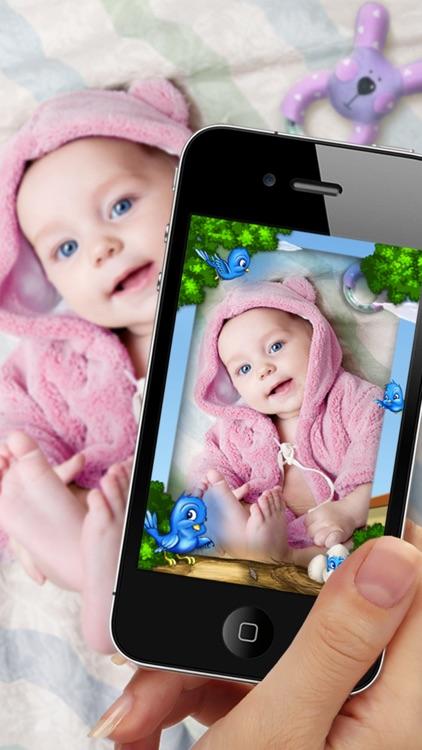 MamaCam - the cutest camera frames for your baby photos!