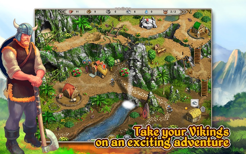 Viking Saga: Epic Adventure (Freemium) screenshot 1