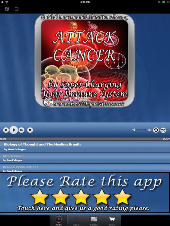 Attack Cancer for iPad