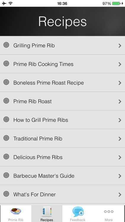 Prime Rib Recipes  - Smoky Jalapeno Rub Recipes screenshot-3