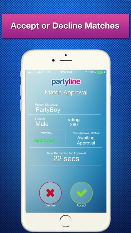 PartyLine Voice Chat, Meet Friends, New People