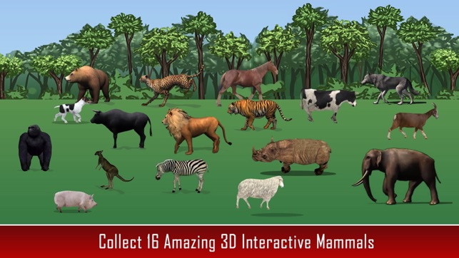 Image of: Educational Screenshots Itunes Apple Animal Kingdom Science For Kids On The App Store