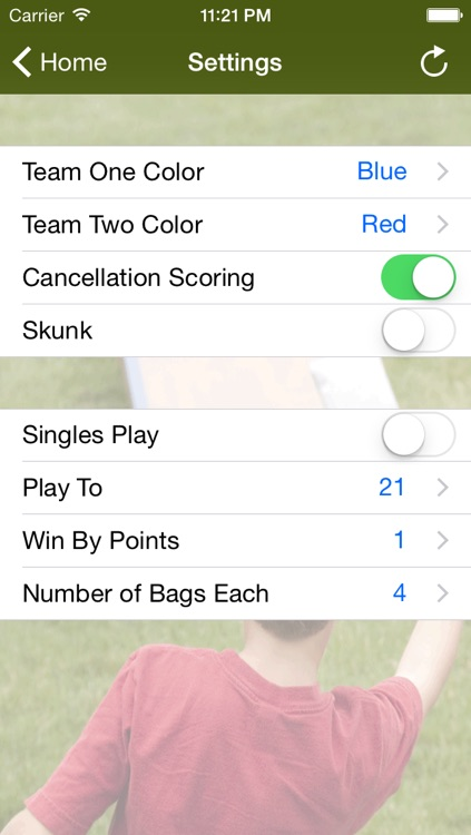 Cornhole Scorer screenshot-4