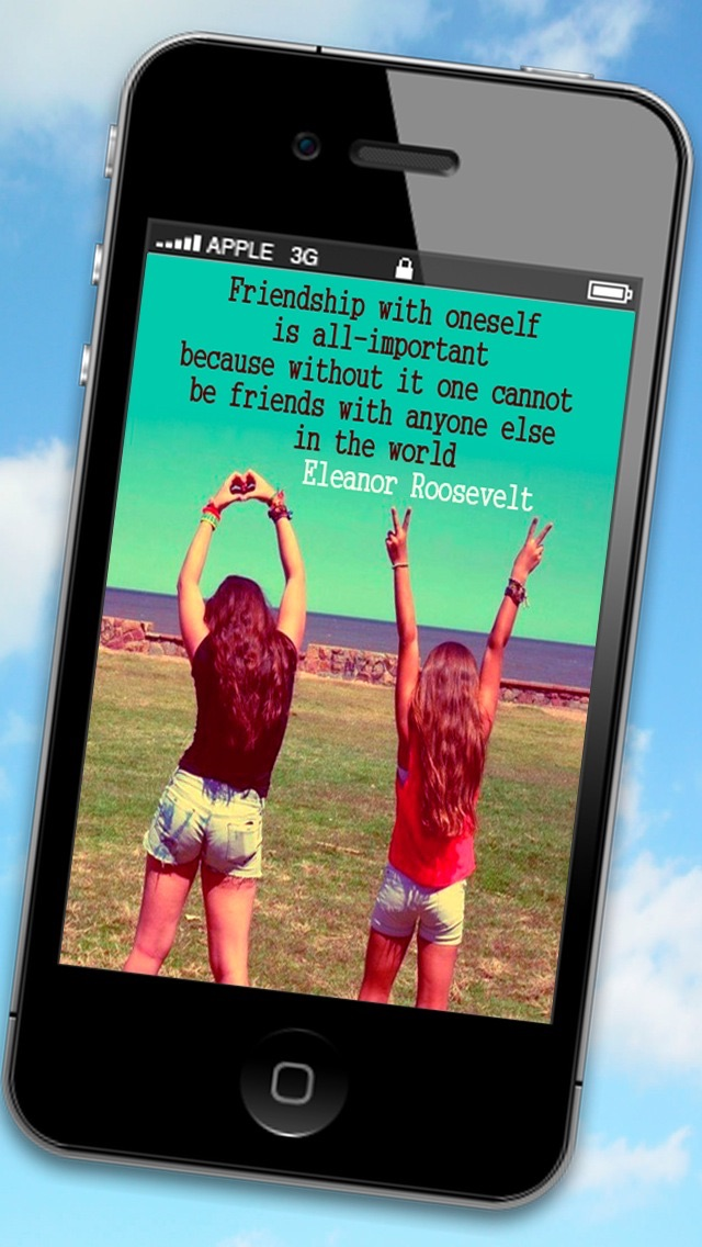 Friendship quotes pictures to share with your friends screenshot two