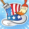活动!图画书 :儿童美利坚合众国 学画画 幼儿园