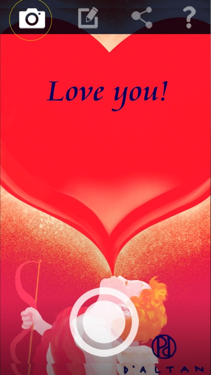 Signed Valentine's Day Cards