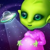 Mommy's Cute Newborn Alien Baby - Space Family Love & Care