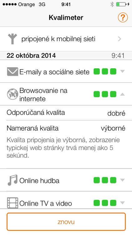 Orange Kvalimeter screenshot-4