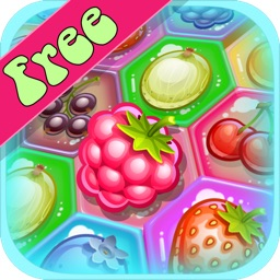 Berry Match Three FREE - A fun, yummy fruit switch-ing puzzle game!