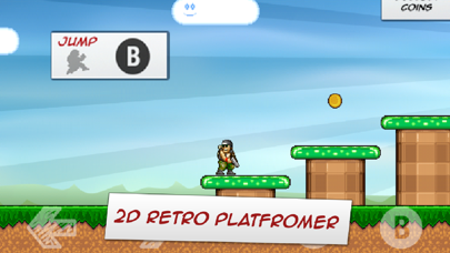 Screenshot from Commander Cool - 8-bit Retro Jump and Run