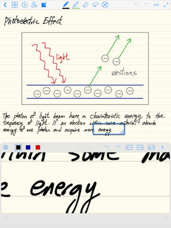 Notes Lite - Take Notes, Audio Recording, Annotate PDF, Handwriting & Word Processor screenshot-3