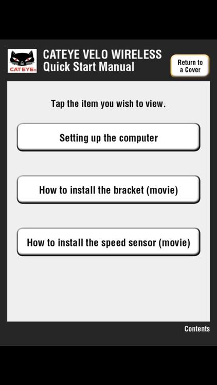 Cateye Velo Wireless Manual Wiring