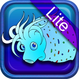 Deep-sea fish super coloring book lite