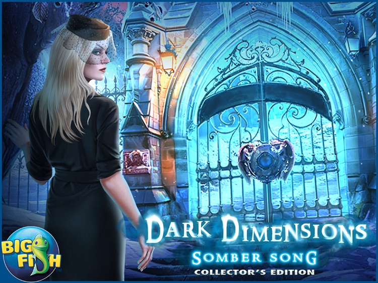 Dark Dimensions: Somber Song HD - A Mystical Hidden Objects Adventure screenshot-4