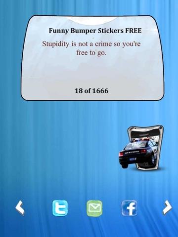 Funny Bumper Stickers FREE-ipad-3